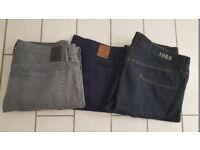 Mens Gap Jeans Size 34 inch waist £2.00 each