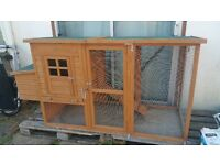 Beautifully made, all weather chicken coop. Ideal for chickens, cats, rabbits etc