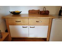 Ikea Kitchen Freestanding Cupboard/Worktop/Sideboard