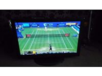 """panasonic vierra 42"""" flat screen tv hd mint condition with nice remote"""