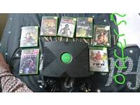 .. Xbox classic and games no remote. Spare and repairs