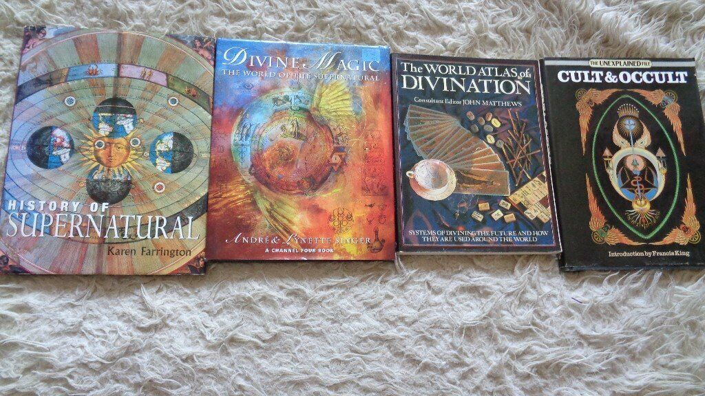 4 CULT AND OCCULT BOOKS HARDBACK NR NEW | in Redcliffe, Bristol | Gumtree