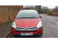 2007 Citroen Grand C4 Picasso VTR+ People Carrier 7 Seater 07930351330