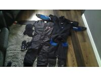 Dry suit, under suit, gloves and hood available worn 5 times. Make me an offer...
