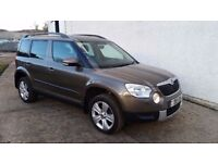 2011 SKODA YETI SE TDI CR 140 4x4 81,000 MILES WITH FULL SKODA HISTORY EXCELLENT EXAMPLE