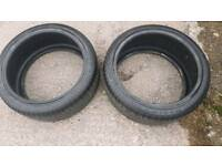 2 x Accelera 265/35/19 tyres