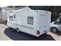 2003 compass fixed bed 4 berth with mover