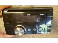 JVC DOUBLE DIN - USB -