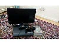 PS3 with Tv and 4 Games
