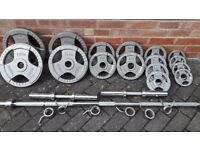 BODY POWER OLYMPIC WEIGHTS SET
