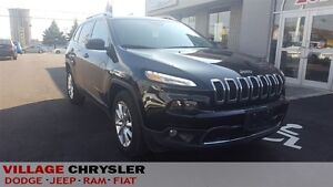 2016 Jeep Cherokee LIMITED 4x4,NAVI,LEATHER.HEATED SEATS AND STE