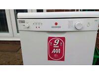 Hoover HEDS968-50 slimline dishwasher