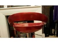 Red bar stool for sale