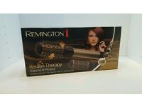 REMINGTON KERATIN THERAPY HOT HAIR BRUSH STYLER **BRAND NEW**