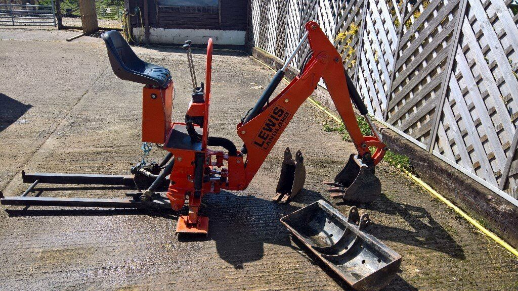 Kubota Mini Excavator For Sale >> Lewis Landlord 110 Backhoe for Kubota B Series mini tractor | in Malvern, Worcestershire | Gumtree