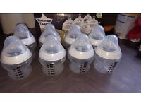 Tommee Tippee bottles and breast pump