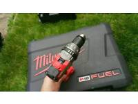 Milwaukee fuel drill/driver /hammer