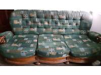 SOFA FOR SALE THREE SEATER SOFA AND TWO SINGLE SEATER