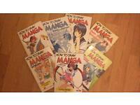 Lot of How to Draw Manga Books