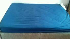 Bed bedding double with mattress