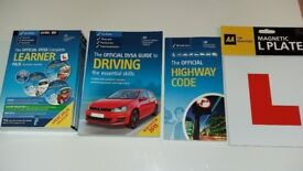 Complete DVSA electronic pack(electronic version), driving essentials and official highway code
