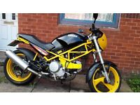 Stunning Ducati 600 Monster, Yellow&Black, Only 12,980 Miles
