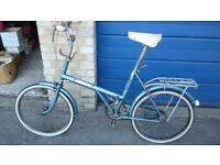 Vtg Triumph/Rayleigh 20 unisex shopping bike-20ins wheels - vgc classic