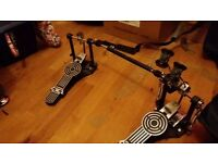 Sonor Double Kick Pedal and Case - £40