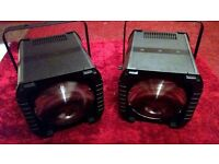 Pair of ADJ Revo 3 LED Disco Lights