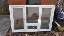 Upvc window new 11705mm x 1120mm