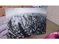Large New York Skyline Canvas - Excellent Condition
