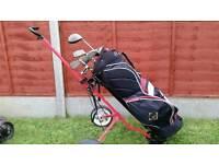 American Golf Golden Bear left handed clubs