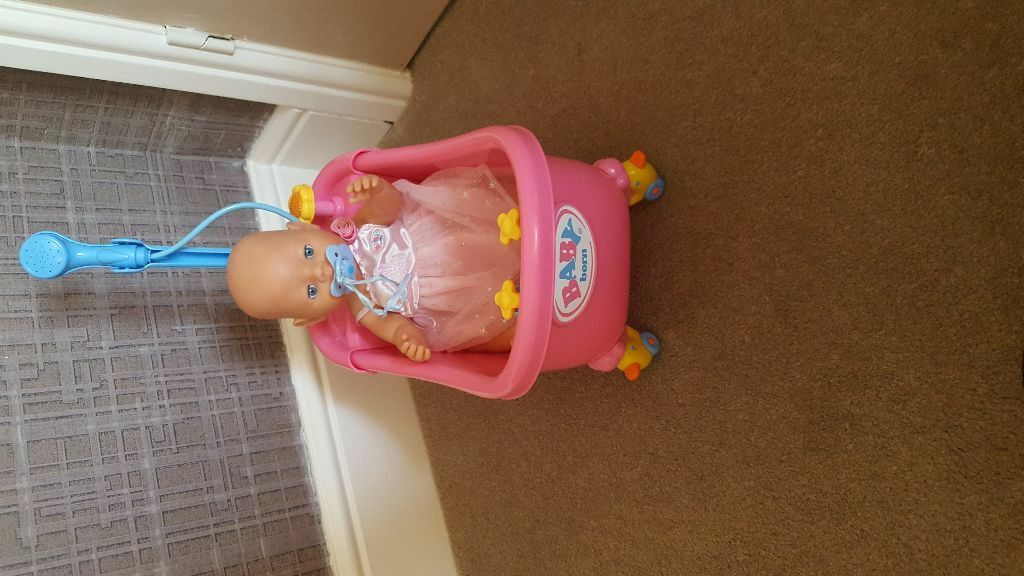 Baby born doll and bath tub | in Stapleford, Nottinghamshire | Gumtree