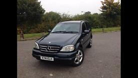 Mercedes Ml 320 lpg (Brc) spares or repairs