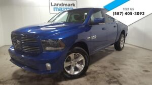 2015 Ram 1500 CREWCAB 4X4 SPORT LOADED