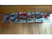 Retro cars Magazines Job Lot