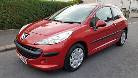 ONLY 52000 MILES,LATE 2008 PEUGEOT 207,3 DOOR,clio,polo,golf,megane,yaris,astra,corsa,mini,c3,c1,a3.