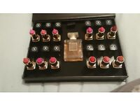 Chanel perfume an lipstick set
