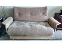 Immaculate 2 Seater Cambridge Futon Company Sofa Bed