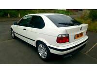 bmw 316 compact auto 50k miles only!!! new car long mot no astra fabia audi a3 clio punto