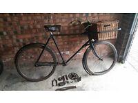 2 x Vintage Delivery Bikes