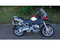2004 BMW R1200GS IN RED FSH WITH ALUMINIUM PANNIERS FINANCE AVAILABLE