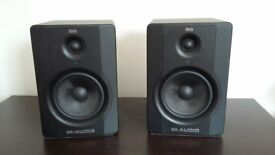 M-Audio BX5 D2 monitor speakers in excellent condition.