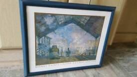 Monet framed print