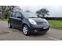 NISSAN NOTE 1.4 ACENTA 2008 2F/KEEPER 84000 MILES VOSA HISTORY AIRCON ALLOYS LOW TO INSURE/TAX 5DR