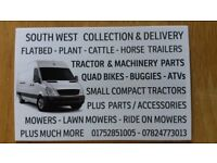 Man & Van, Light Haulage, Collection / Delivery & Towing Services (South West.)