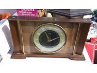 Antique Metamec mantle clock
