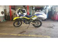Husqvarna wr250 reg as 125