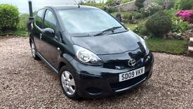 Toyota Aygo plus ++ Black edition