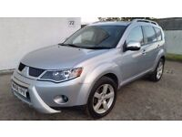 2008 MITSUBISHI OUTLANDER WARRIOR 2.0 DI-D [4X4] 7 SEATS - LEATHER (PART EXCHANGE WELCOME)